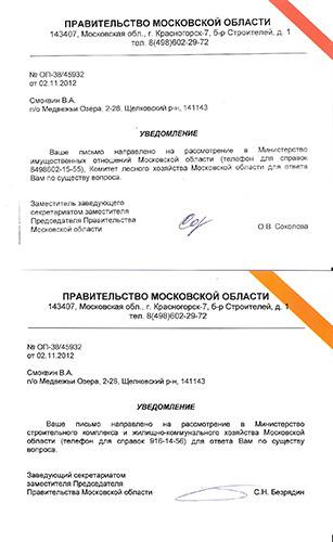 как написать письмо в правительство москвы образец СПР фирме содержат